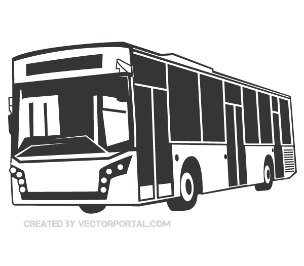 Bus Vector Image Vector Graphics Bus Free Vector Graphics