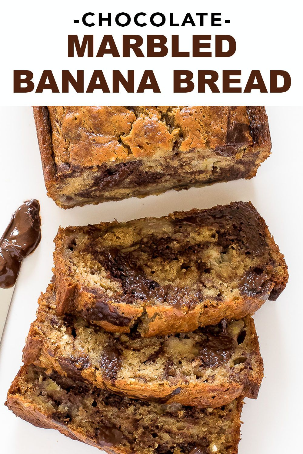 Marbled Chocolate Banana Bread Chef Savvy Recipe Chocolate Banana Bread Chocolate Banana Bread Recipe Chocolate Bread Recipe