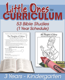 graphic regarding Free Printable Children's Church Curriculum identified as Cost-free Bible Curriculum: 325 Bible Research (Grades PreK-6th