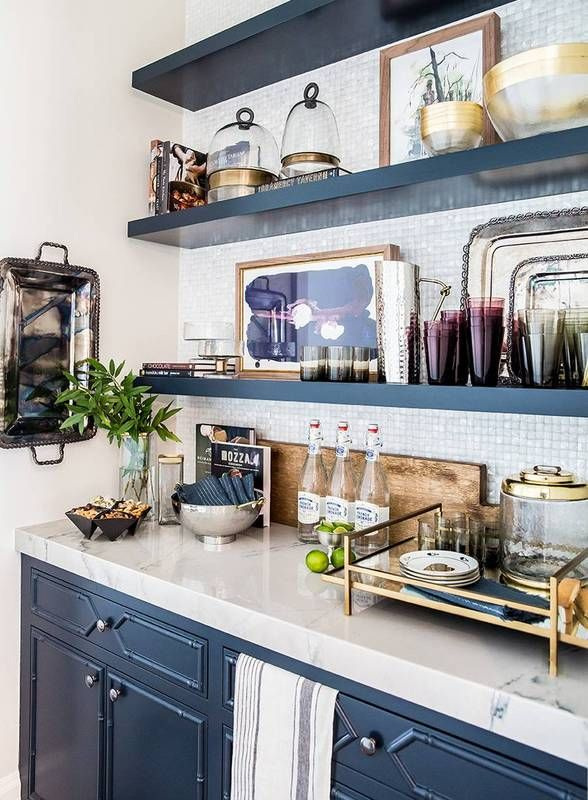 14 Cool Ways To Incorporate Open Shelving Into Your Kitchen