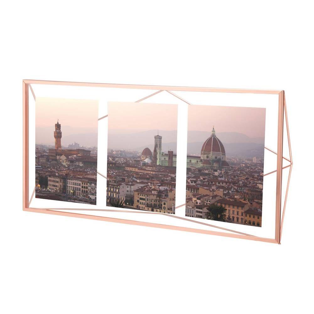 Prisma Multi Photo Display, Copper | Multi photo