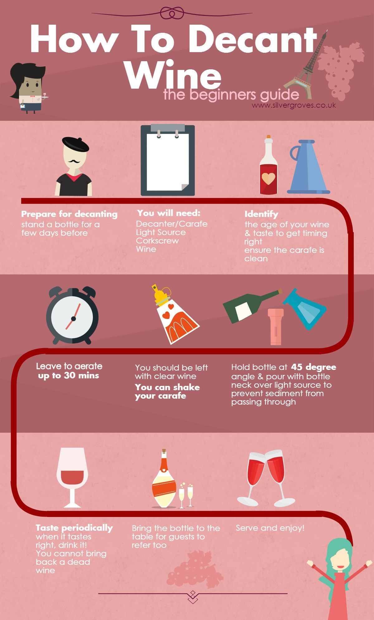 How To Decant Wine The Beginner S Guide Wine Infographic Wine Facts Wine Tasting Experience