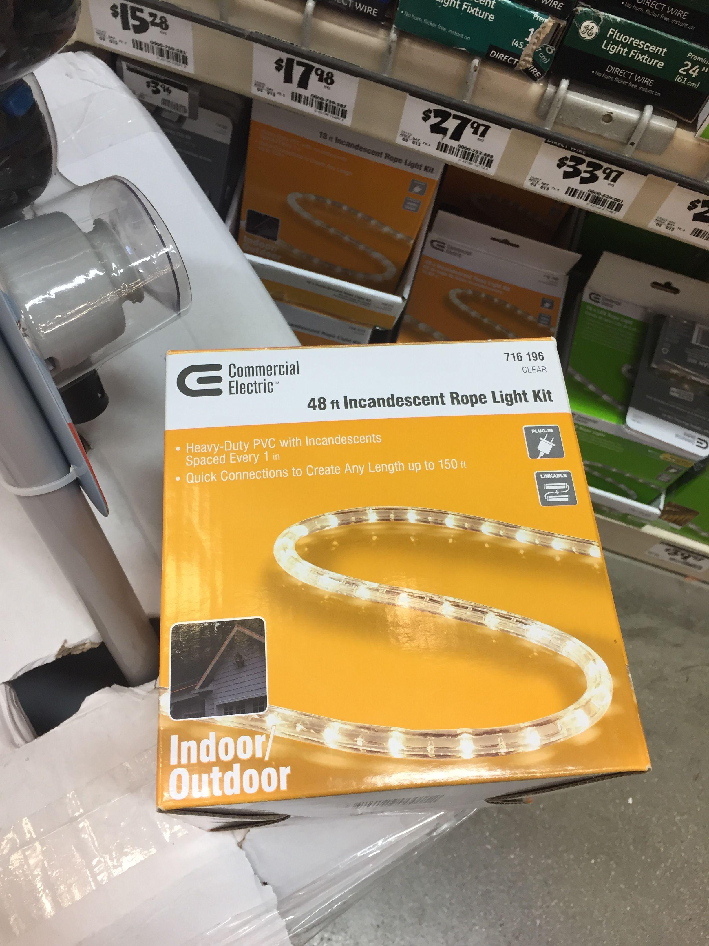 Home Depot 25 Fluorescent light fixture, Fluorescent
