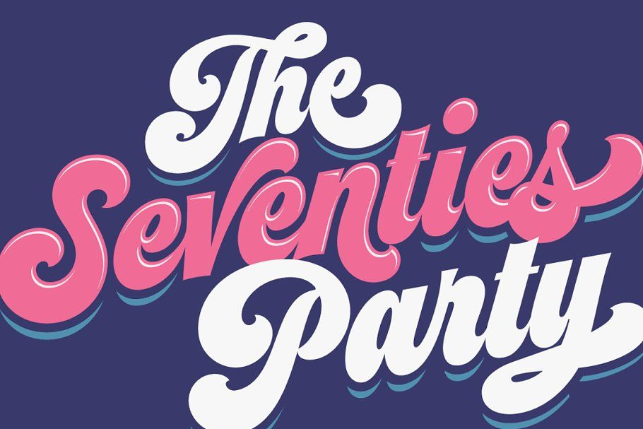 Download Seventies (complete pack) | Lettering, Free fonts download ...