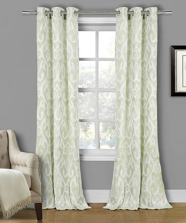 Loving This Seafoam Green Martina Curtain Panel Set Of Two On