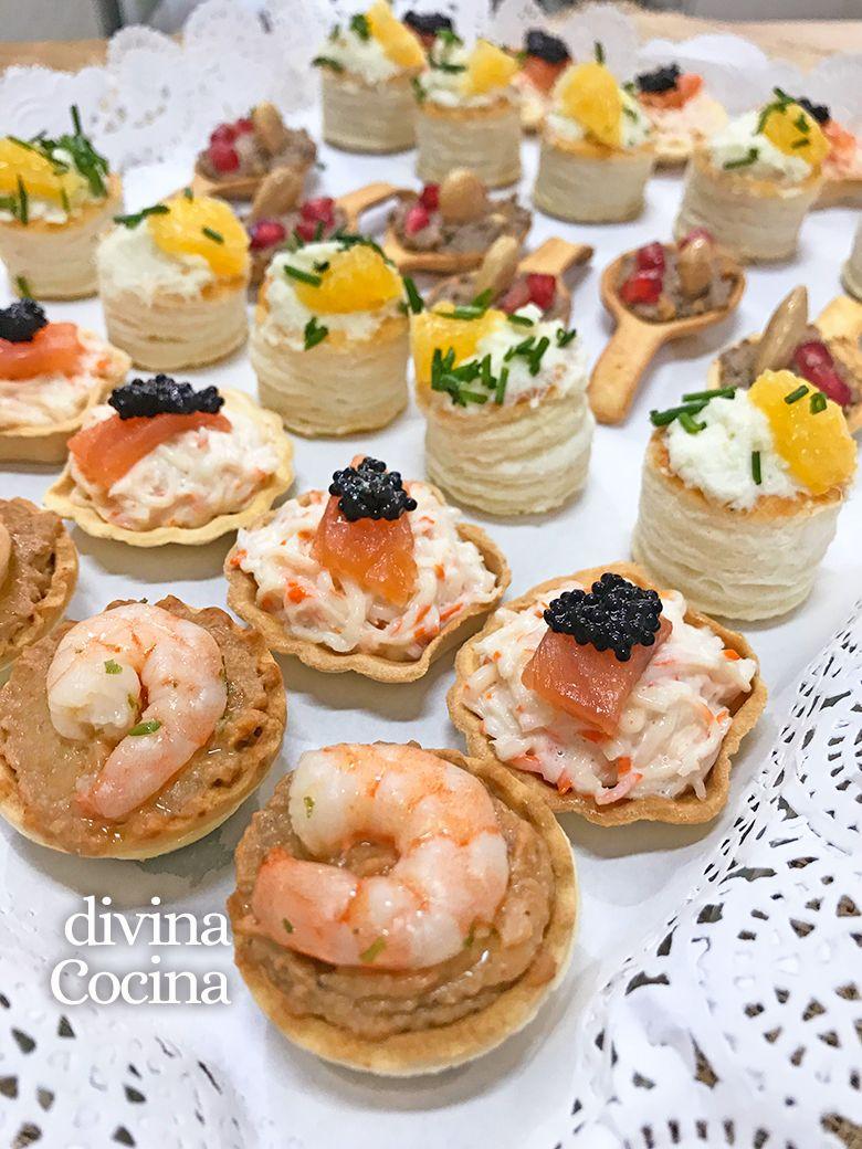 Recetas de canap s fr os f ciles y r pidos aperitivos - Cocina navidena espanola ...