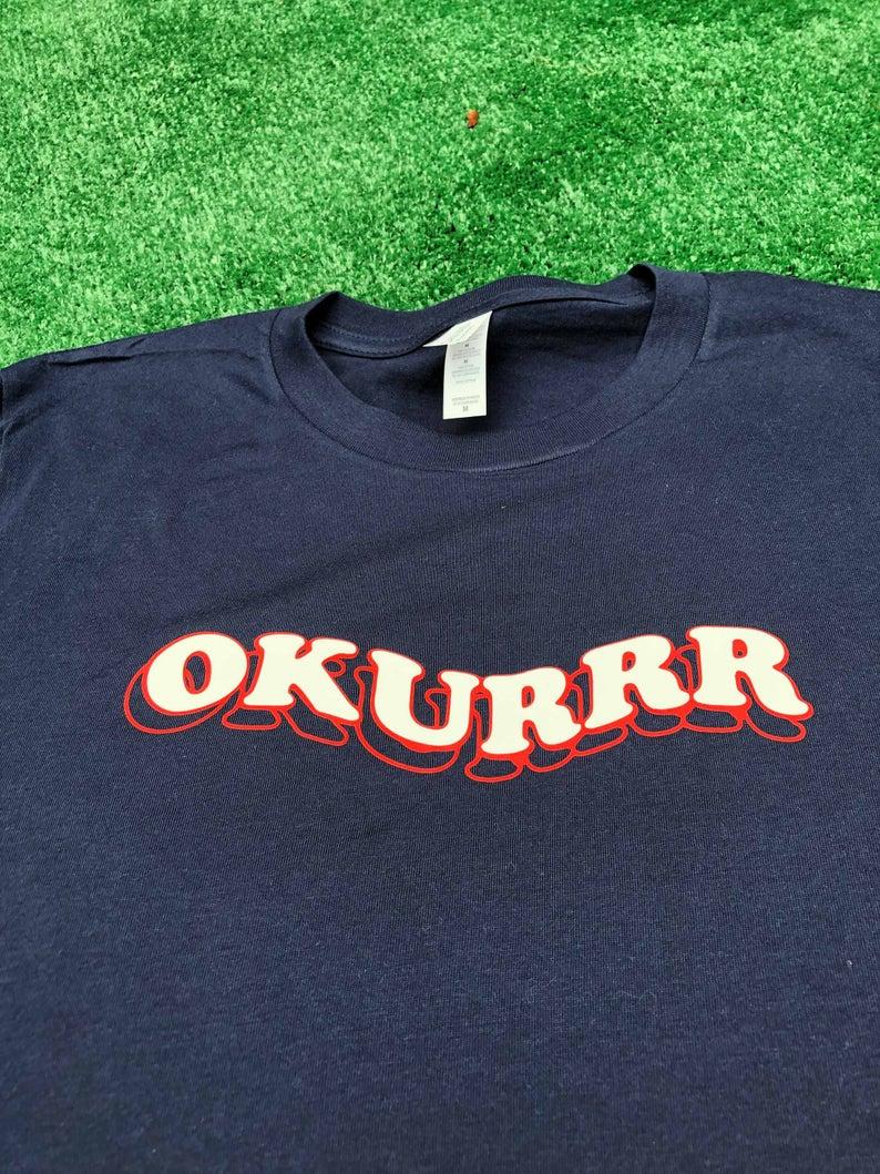 Okurrr T Shirt Funny Cardi B Shirt Okurrr Funny Slogan Etsy Cardi B Shirt Funny Slogan Shirts Meme Shirt