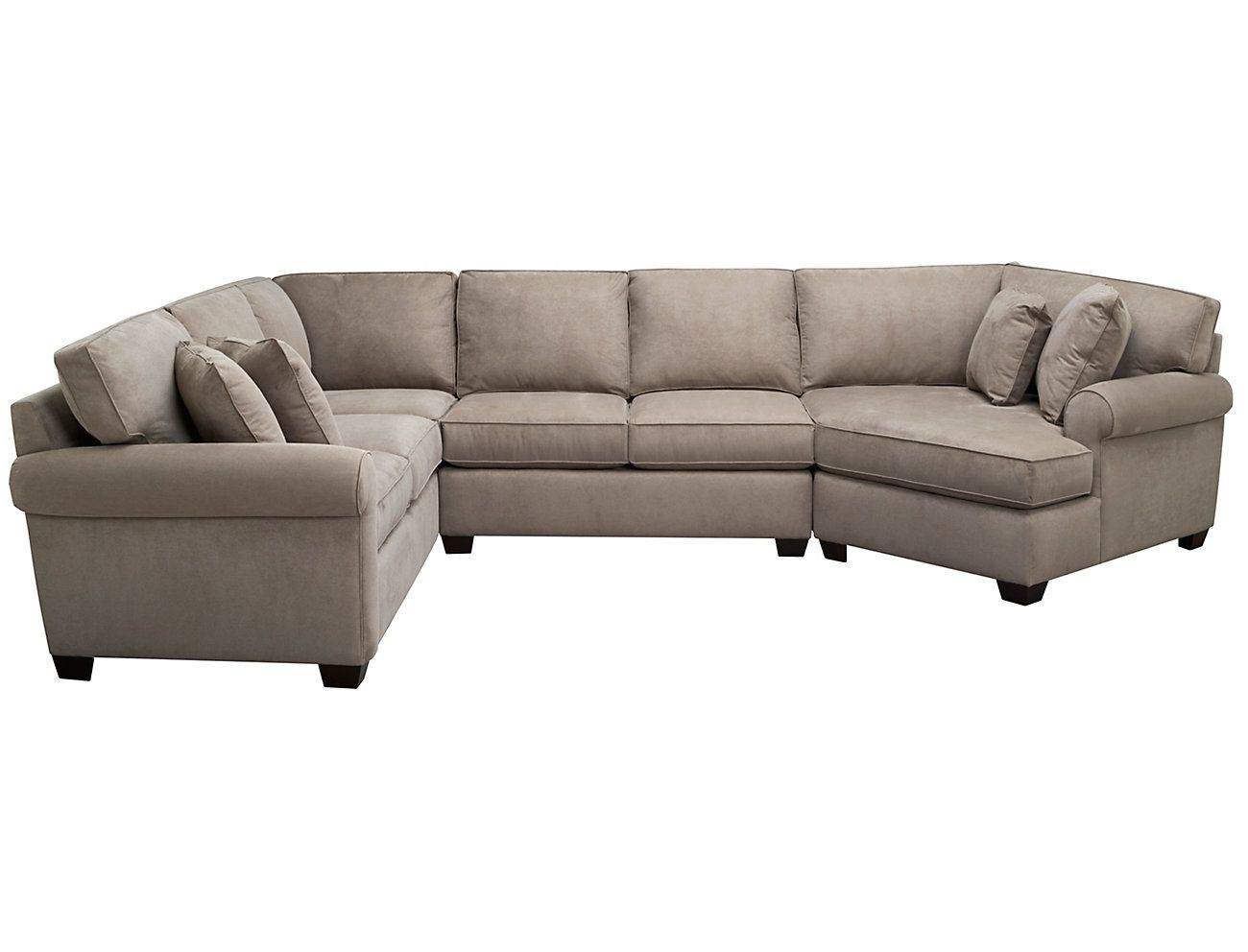 Best Marisol Iii 3 Piece Right Arm Facing Cuddler Sectional 640 x 480