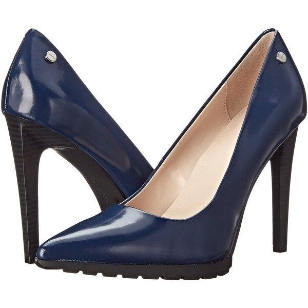Heels, High heel pumps, Navy high heels