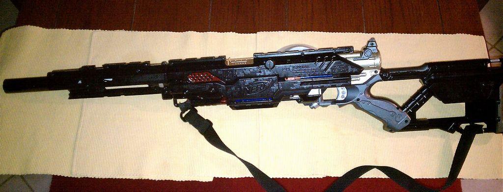 nerf guns | pretty intimidating nerf gun spoiler click to show hide