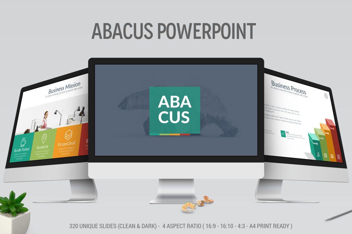 Template de PowerPoint Multiuso - Abacus - IA Produtos