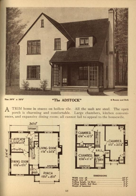 Deyo S Book Of Homes Dream House Plans Vintage House Plans