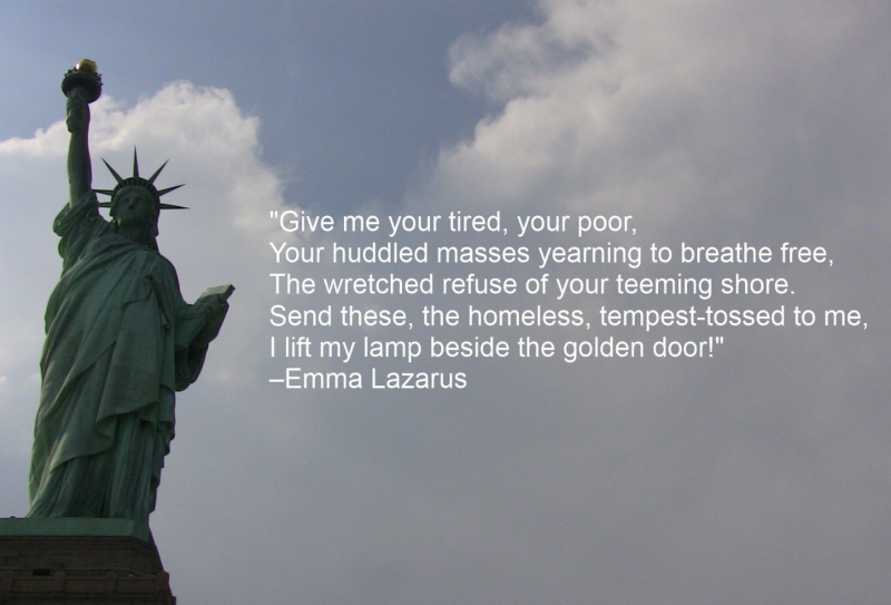 Statue Quotes Magnificent Give Me Your Poor Statue Of Liberty Quote  Google Search  Humanity