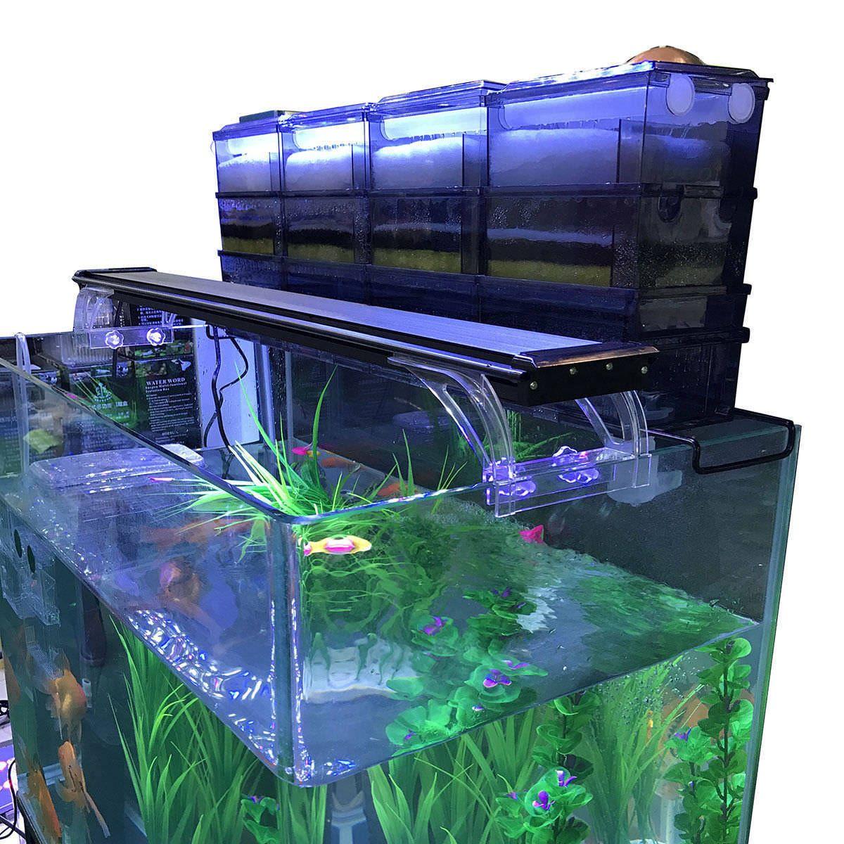 Aquarium External Filter Trickle Rain Drop Upper Fish Tank Water Aquascape Aqua Us