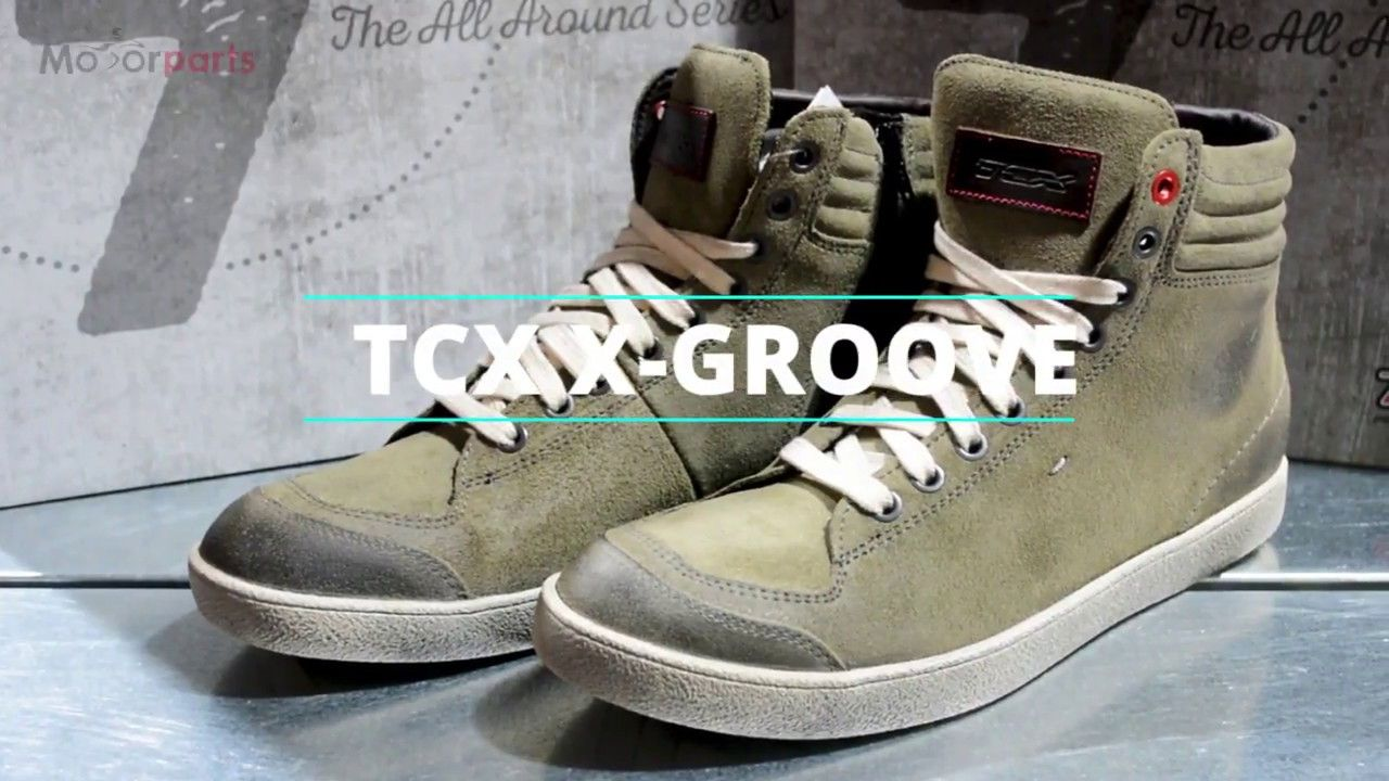 6d836eb0c11 Παρουσίαση Μποτάκια Μοτοσυκλέτας #TCX X-Groove | Helmet Videos 360 ...
