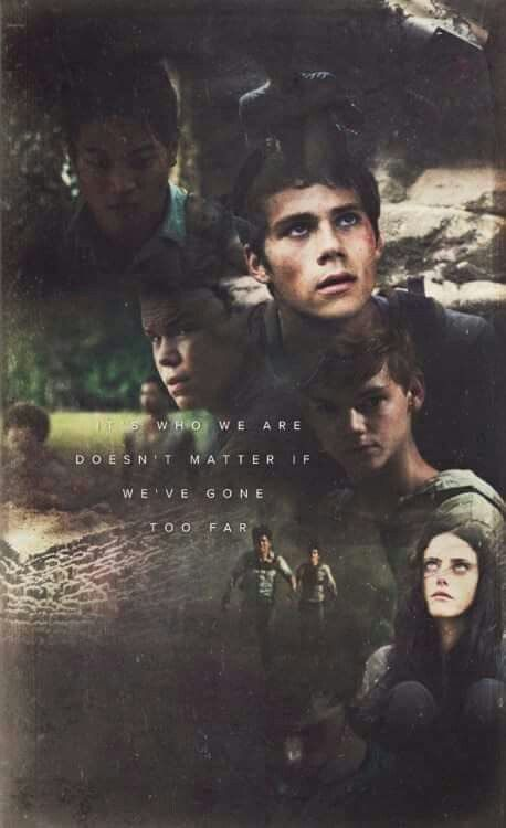 They Say We Re Crazy The Maze Runner Poster Pancydobtst