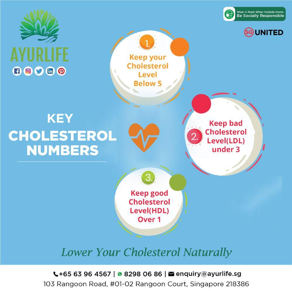 Key Cholesterol Numbers Ayurvedic Therapy Cholesterol Cholesterol Levels