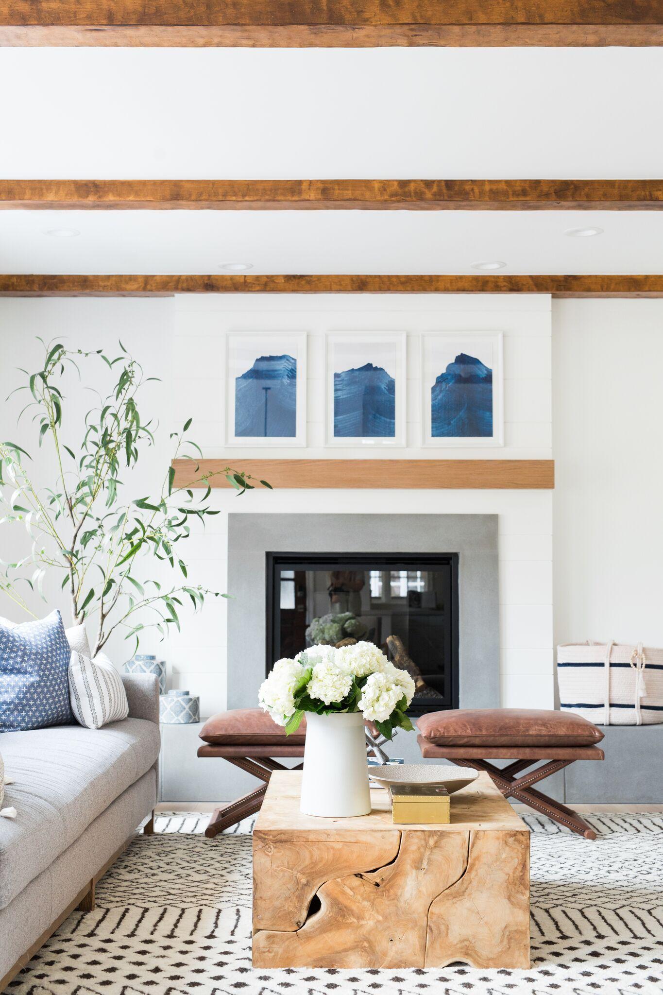 Riverbottoms Remodel Living Room Reveal Studio Mcgee Living Room Remodel Living Room Reveal Small Living Room Design #simple #small #living #room #design