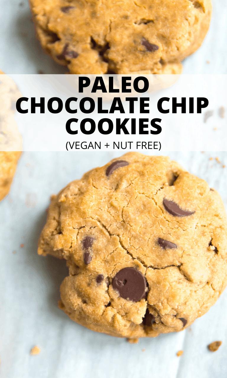 Cassava Flour Chocolate Chip Cookies Recipe In 2020 Chocolate Chip Cookies Paleo Chocolate Chip Cookies Chip Cookies