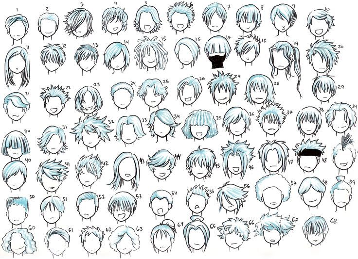 cartoon hair | Lovely-Devine on deviantART: | Cartooning ...