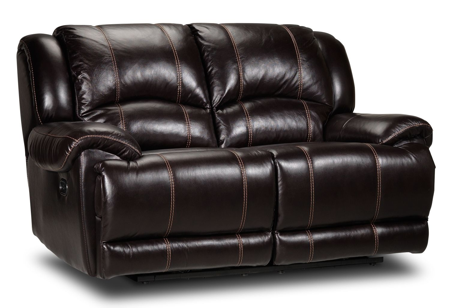 Sinatra Leather Power Reclining Loveseat