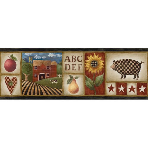 Best Country Patch Wallpaper Border Wallpaper Border 640 x 480