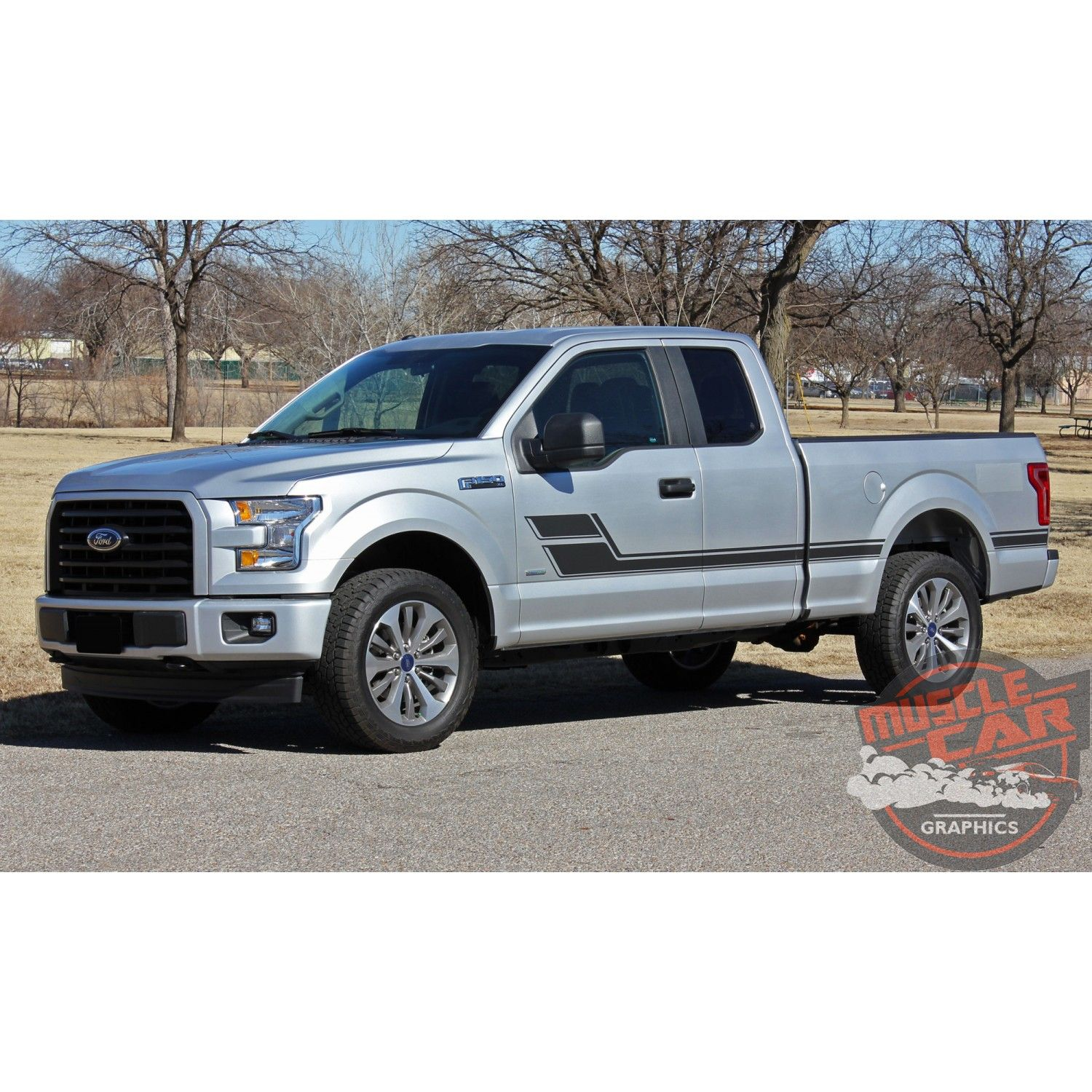 Ford F 150 Side Stripes Eliminator Door Decals Hockey Stick Rally