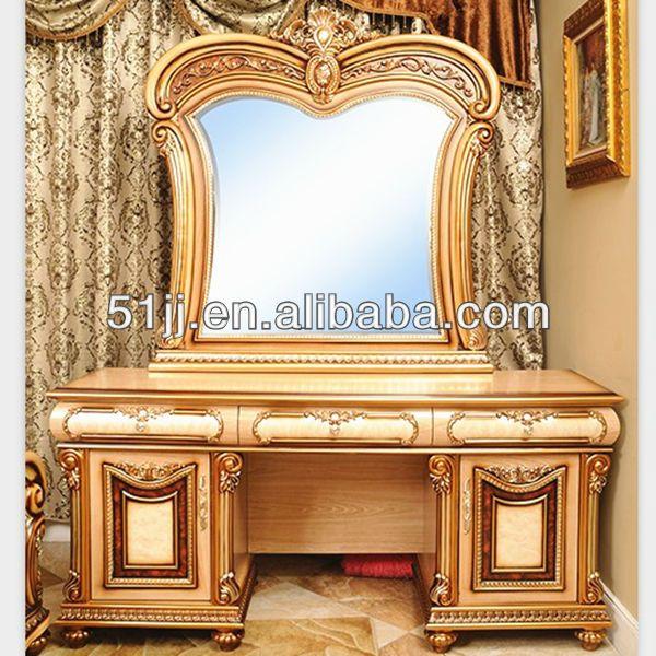royal 061949 reina muebles del dormitorio antiguo tocador con espejo ...
