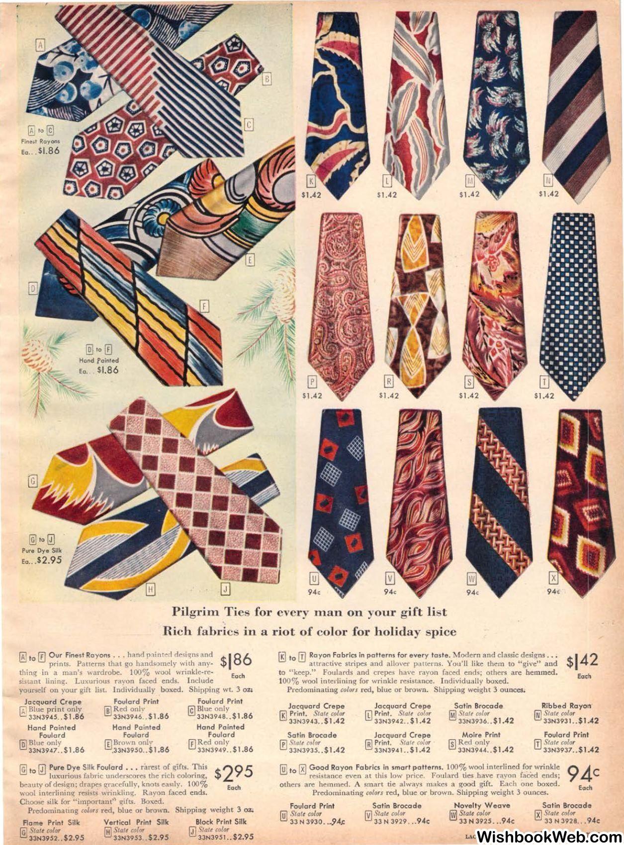 Vintage Art Deco Tie Clip 1930s Wide Tie Slip On