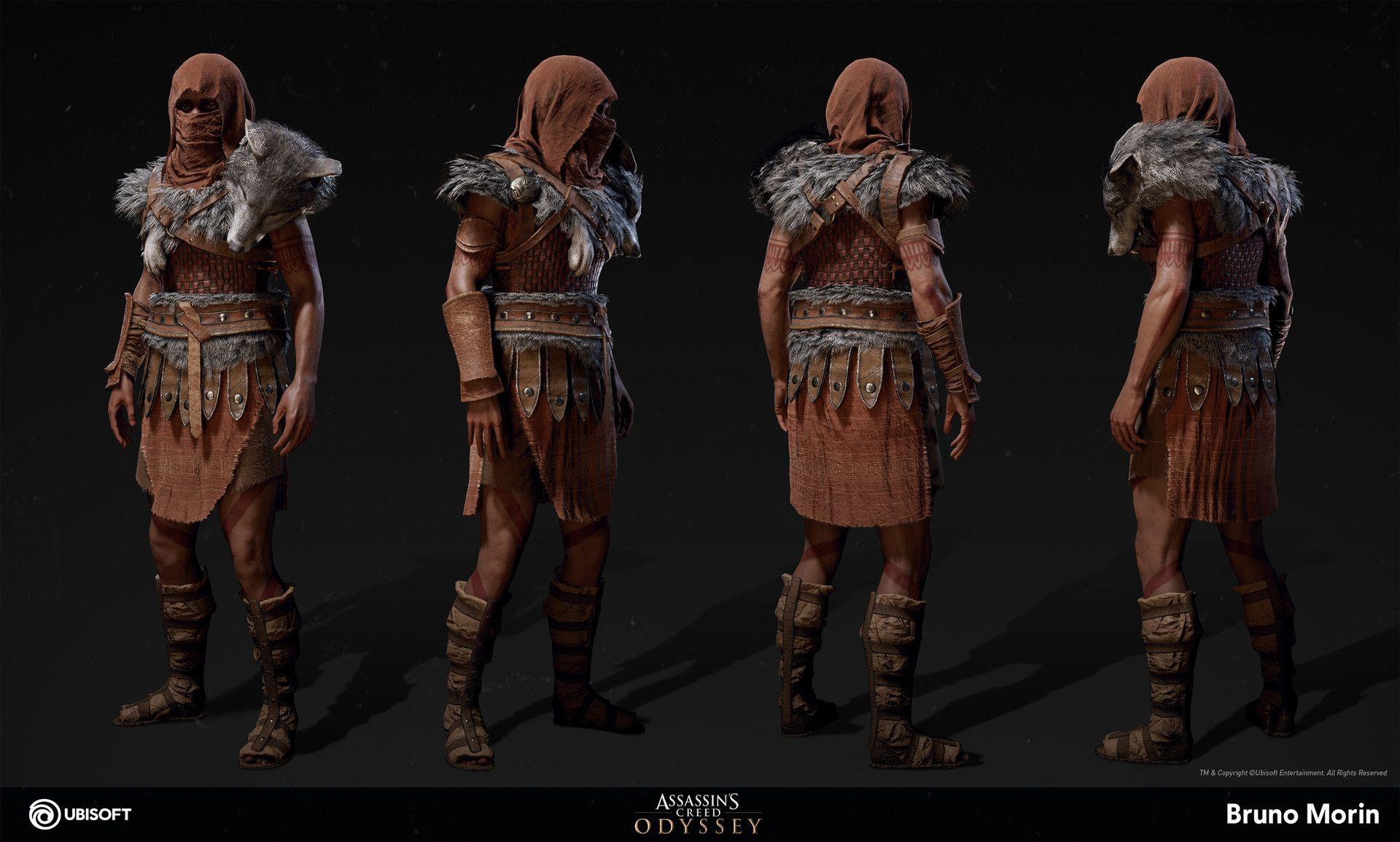 Artstation Assassin S Creed Odyssey Daughters Of Artemis Amazon Bruno Morin Assassins Creed Outfit Assassins Creed Art Assassins Creed Artwork
