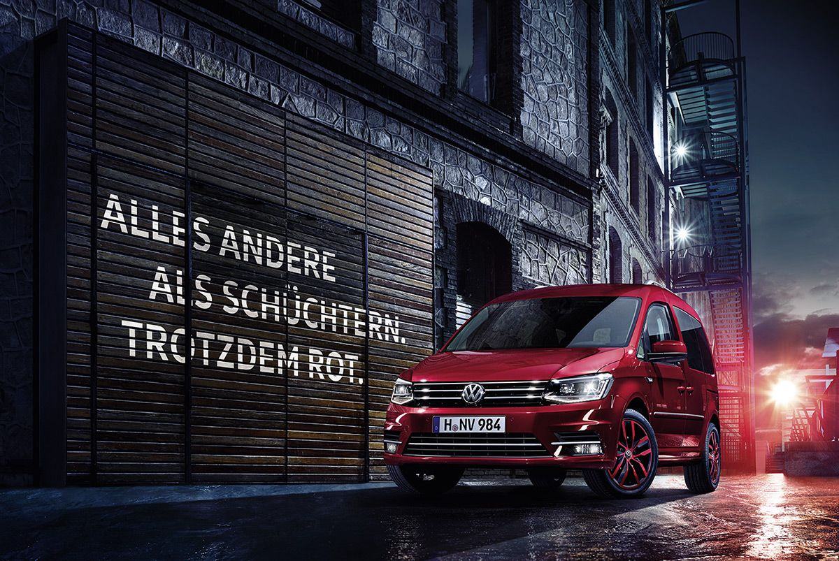 Volkswagen Caddy Campaign on Behance (con imágenes