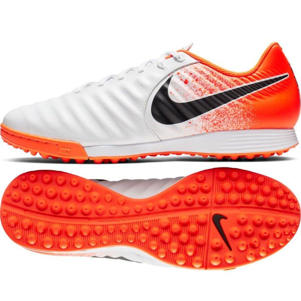 Buty Pilkarskie Nike Tiempo Legendx 7 Academy Tf M Ah7243 118 Biale Wielokolorowe Football Shoes Nike Shoes Nike