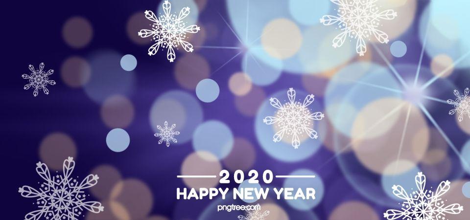 2020 พื้นหลังรัศมีสีม่วงสีฟ้า สวัสดีปีใหม่, สีม่วง