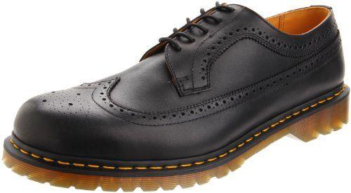 Dr. Martens Men's Saxon 3989 Wingtip Oxford,Black,10 UK (US Men's