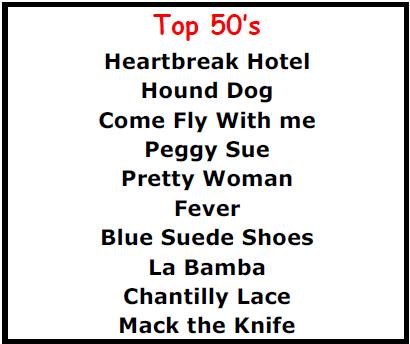 Top Karaoke Songs