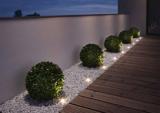 Faire la lumière dans son jardin trädgård Pinterest Bordure - mettre du gravier dans son jardin