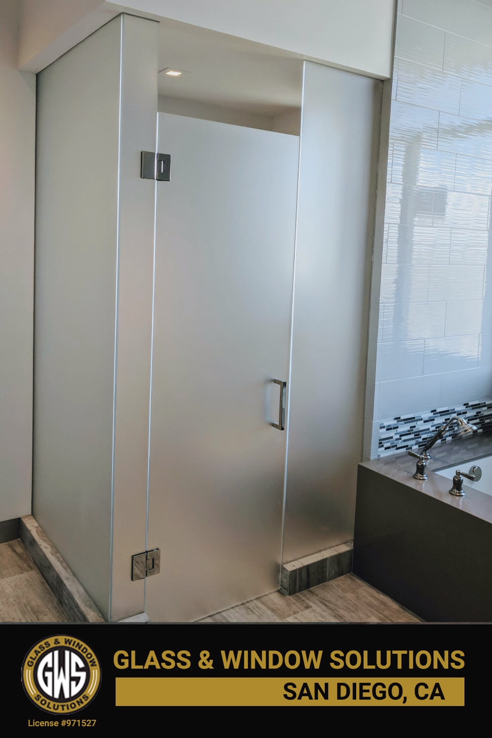 For All Your Glass Shower Needs In San Diego Visit Our Website Or Come See Our Beautiful Glass Video In 2020 Bathroom Decor Framed Shower Enclosures Glass Shower Enclosures