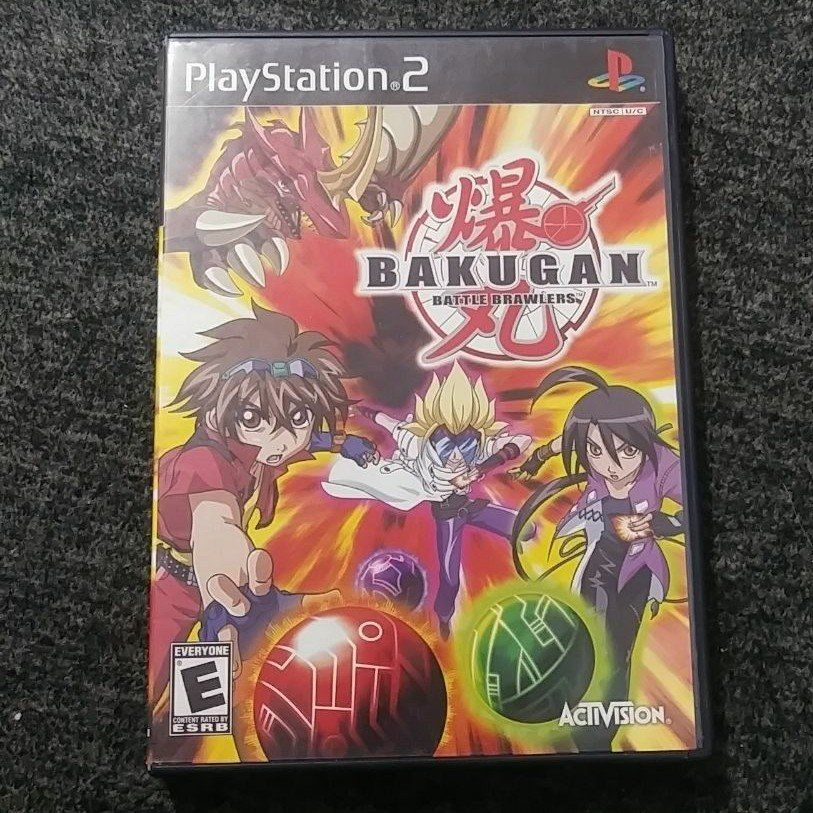 Here I Have Is Bakugan Battle Brawlers This Game Is For