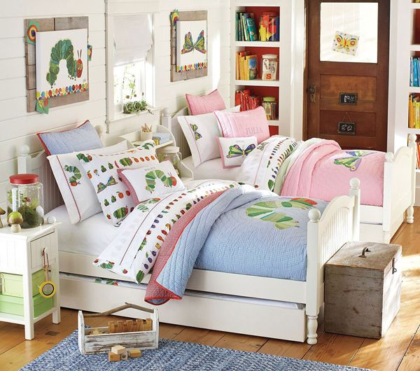 20 Shared Kids Bedroom Ideas With Two Concepts love the look