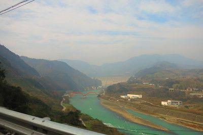 Famous Chinese Dam Chendu, China