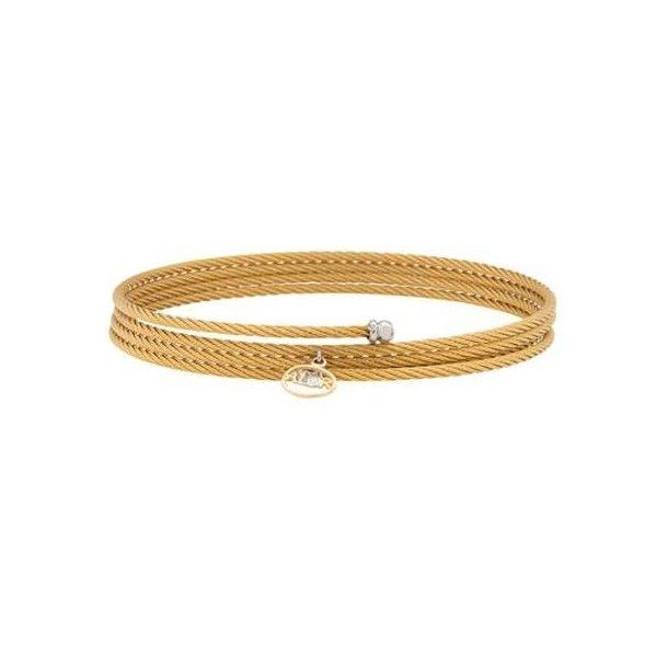 Alor 18kt White Gold Sterling Silver Wrap Bracelet ($115) ❤ liked on Polyvore featuring jewelry, bracelets, gold, sterling silver wrap bracelet, sterling silver jewellery, 18k bangle, white gold bangle and fine jewellery