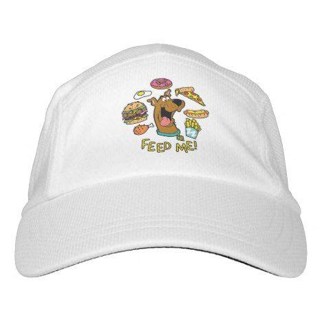 10f94fc7 Scooby-Doo Feed Me! Headsweats Hat | Zazzle.com | SCOOBY DOO | Hats ...