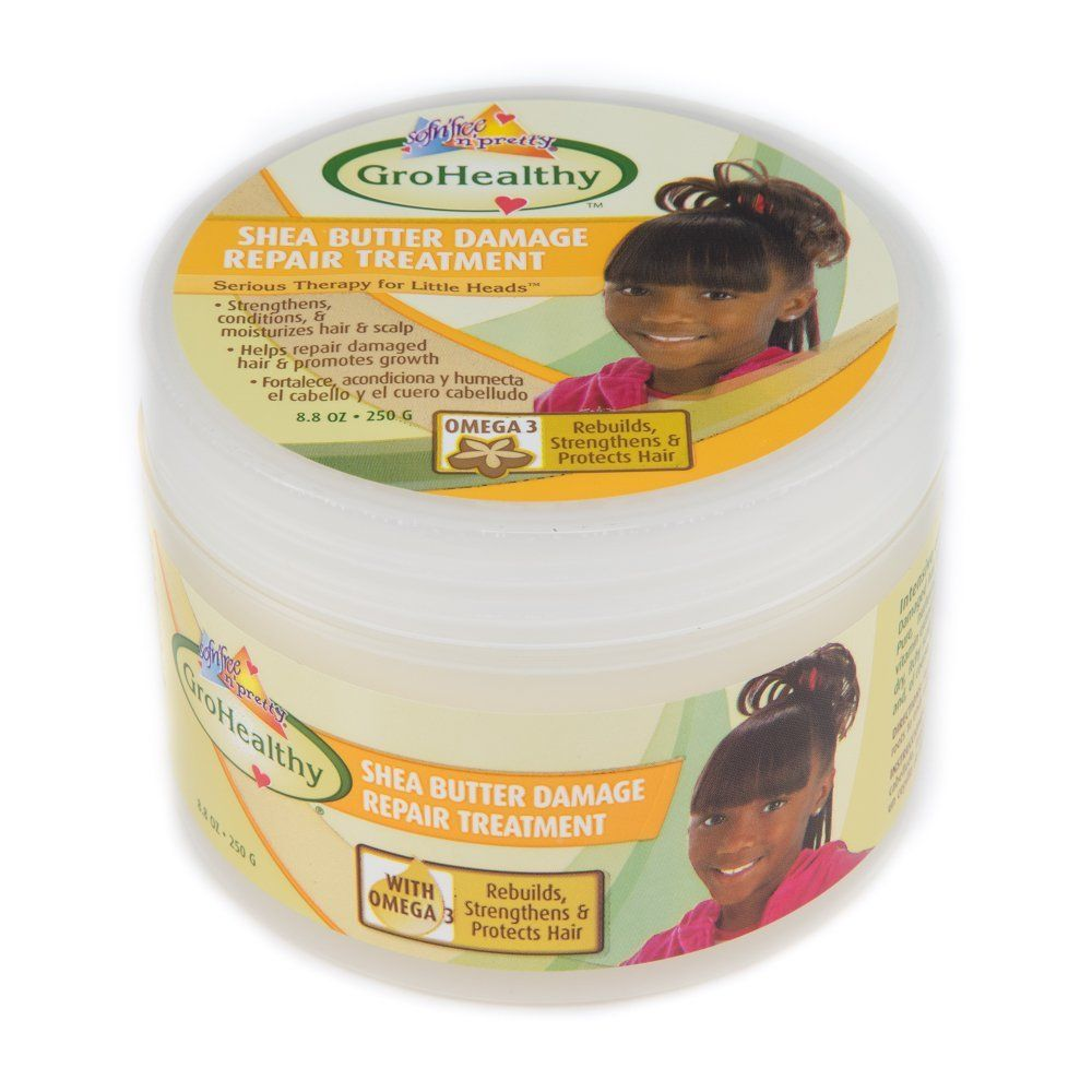 GroHealthy Shea Butter Damaged Hair Repair Treatment ** Continue to the product at the image link.
