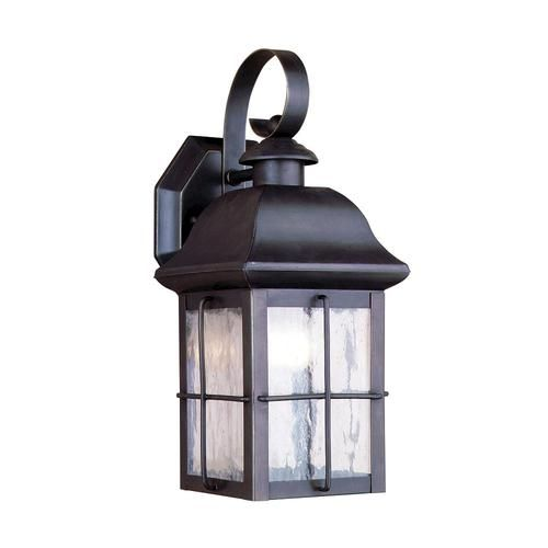 "Hawkins 1 Light 13"" Outdoor Olde Bronze Wall Mount At"