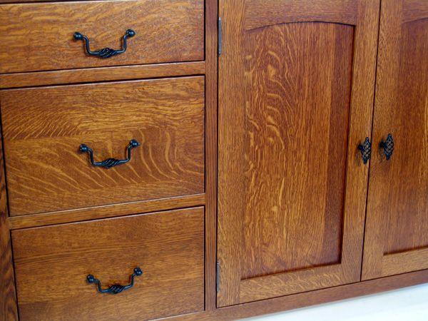 Quarter Sawn White Oak Kitchen Cabinets | Oak Kitchen Cabinets ...
