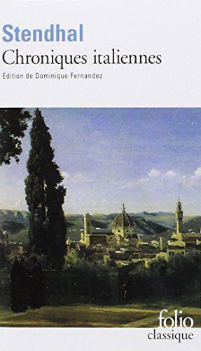 Amazon Fr Chroniques Italiennes Stendhal Livres