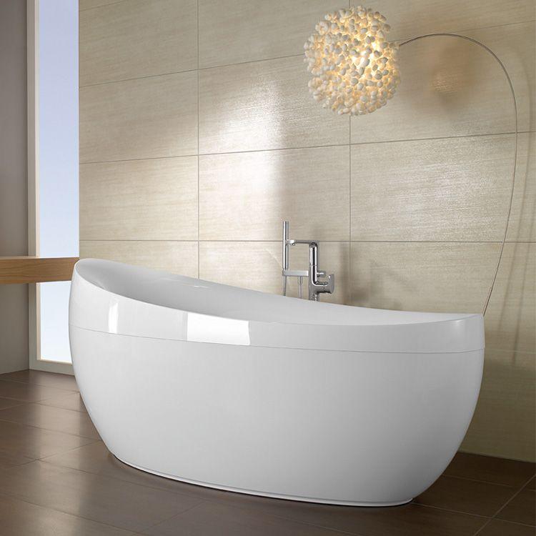 Villeroy \ Boch Aveo Freistehende Badewanne weiß Badideen