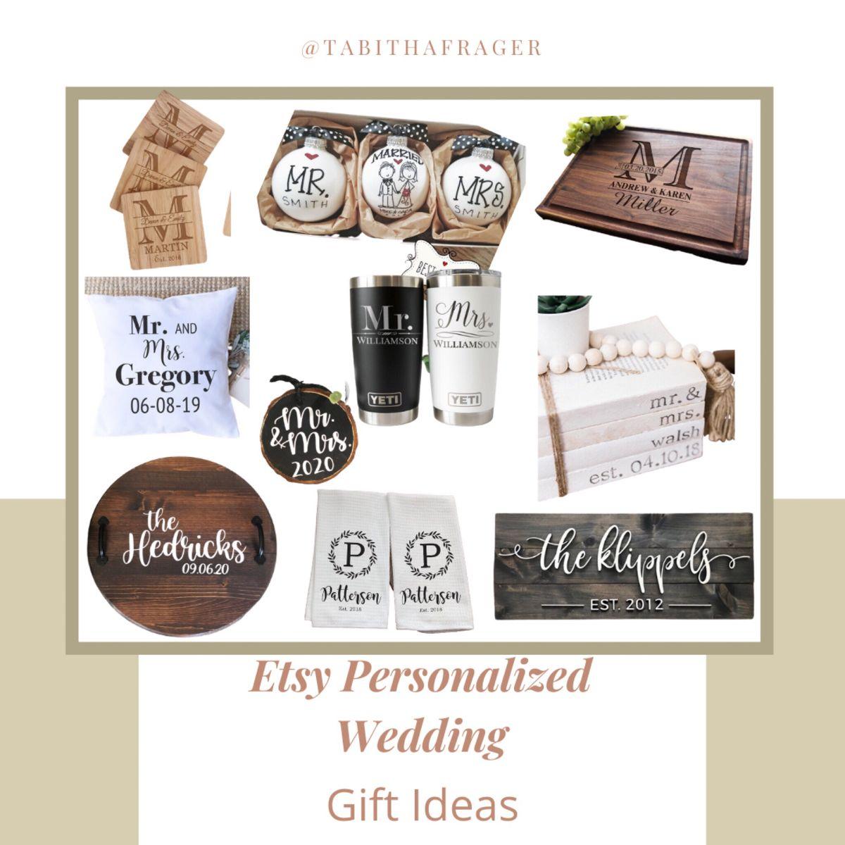 Etsy wedding gift ideas. Personalized wedding gifts, Etsy