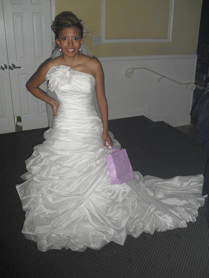 "Bravura Bride Mrs. Karina Garcia Bravo in a spectacular Maggie Sottero gown ""Monaco"""