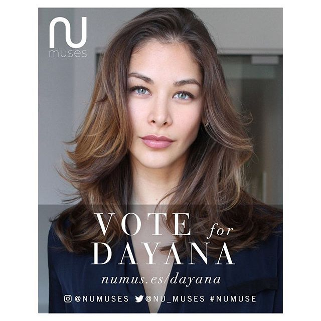 #VOTENOW   For our girl @DayanaMendoza to be a part of the @numuses calendar…